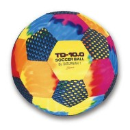 "10"" Tie-Dye Gripper Ball - Soccer Ball"