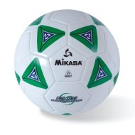 Mikasa® Soft Soccer Ball Size 4 Green/White
