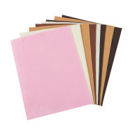 "Multicultural Felt Sheets, 9""x12"" (pack of 8)"