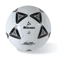 Mikasa® Soft Soccer Ball Size 4 Black/White