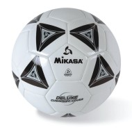 Mikasa® Soft Soccer Ball Size 5 Black/White