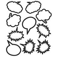 Speech Bubbles (set of 30)