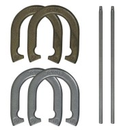Recreational Steel Horseshoe Set