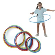 Spectrum™ Economy Candy-Striped Hoops (pack of 12)