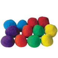 "Spectrum™ Puff Balls 4"" (pack of 12)"