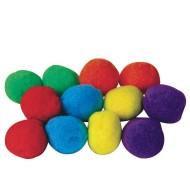 "Spectrum™ Puff Balls 3"" (pack of 12)"