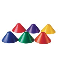 "Spectrum™ 4"" Half Cones (set of 6)"