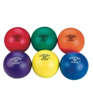 Gator Skin® Dodge Plus Middle School Dodgeball (set of 6)