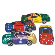 Foam Race Car  (pack of 24)