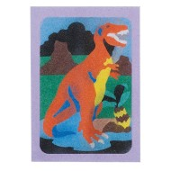 "Sand Art Boards 5""x7"" - Dinosaurs  (pack of 12)"