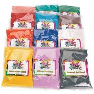 Fine Terrarium Sand 24-lbs - 12 Colors (pack of 12)