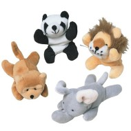 Mini Beanbag Animals (pack of 12)