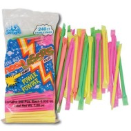 Neon Laser Straws (pack of 240)