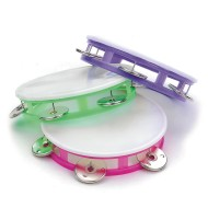 Plastic Tambourines  (pack of 12)