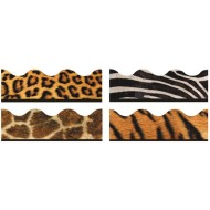 Animal Prints Bulletin Board Trim Pack (pack of 48)