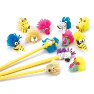Zoo Pencil Toppers (pack of 12)