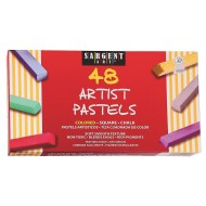 Premium Quality Pastel Chalk Assorted (ct/48) (pack of 48)