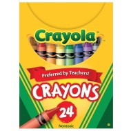 Crayola® Regular Size Crayons  (box of 24)