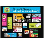 MyPlate Bulletin Board Kit