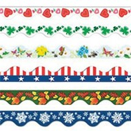 Seasonal Decoration Trim Pack  (pack of 6)