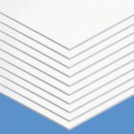 Super Value Foam Board, Matte White (case of 10)
