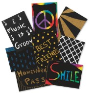 Scratch-Art® Trading Cards (pack of 208)