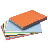 "Tru-Ray® Sulphite Construction Paper, 12""x18"", 10-Color Asst. (pack of 250)"