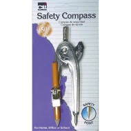 Compass with Pencil Safety Point