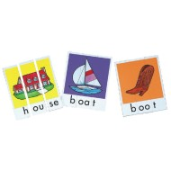 Phonics Word Building Puzzles Set 2