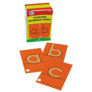 Sandpaper Lowercase Letters (set of 28)