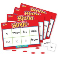 Sight Word Level 1 Bingo