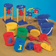 Sand & Water Beach Play Set