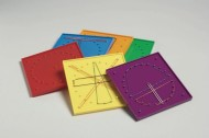 Double-Sided Geoboards (set of 6)