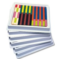 Classroom Multi-Pack Cuisenaire® Plastic Rods (set of 6)