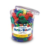 Attribute Nuts and Bolts (set of 64)