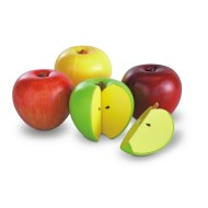 Magnetic Apple Fractions (set of 4)