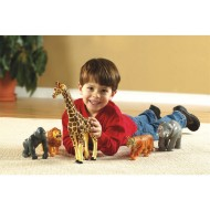 Jumbo Jungle Animals (set of 5)