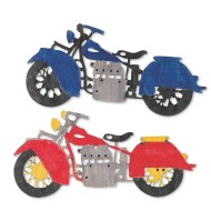 Wood Motorcycle Craft Kit (makes 12)