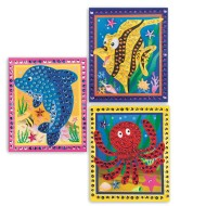 Sealife Sequin Picture Craft Kit (makes 12)