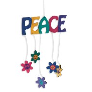 Peace Mobile Craft Kit (makes 12)