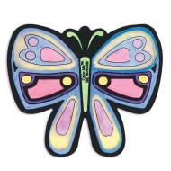 Velvet Butterfly Sun Catchers Craft Kit (makes 12)