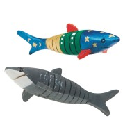Flexible Wooden Shark Craft Kit (makes 12)