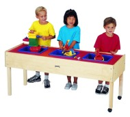 Three-Tub Sensory Table