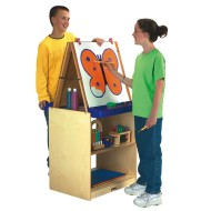 School Age 2-Station Easel