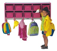 Rainbow Accents® Coat Locker with Cubbies