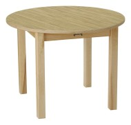 "30"" Round Butcherblock Play Table"
