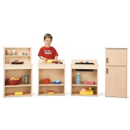 Young Time™ Play Kitchen Set - 4 pcs (set of 4)