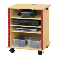 Lockable Presentation Cart