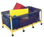 Rectangular Mobile Equipment/Toy Box
