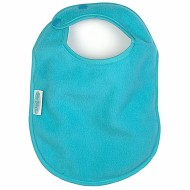 Fleece Bibs, Aqua (pack of 4)